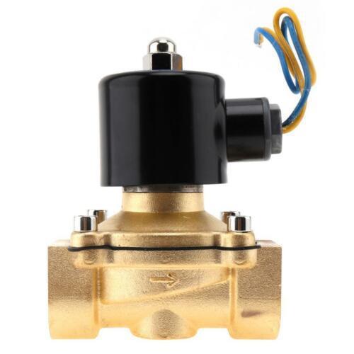 G1 Vanne /électromagn/étique de CC 12V 2/électrovanne de contr/ôle de leau de commutateur magn/étique /électrique normalement ferm/ée pour appareils /électriques de chauffe-eau solaire