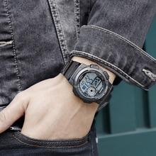 Digital watch male student electronic watch