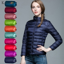 KANCOOLD 2019 Women Jacket Short Down Outwear Female Winter Coat Cotton Padded W