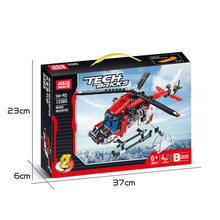 DECOOL TECHNIC  Compatible legoly technic 42092 RESCUE HELICOPTER City Model Building Blocks bricks toys for childrens Gifts