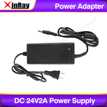 Xinray DC 24V 2A Power Supply Input AC 100 240V 50/60Hz 2018 Newest.