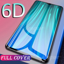 6D Tempered Glass for OPPO Reno 3 4 SE 2 2Z Z F17 A9 2020 Screen Protector for OPPO Realme X7 7 Pro 6 X50 5 XT X2 3 C3 A53 Glass