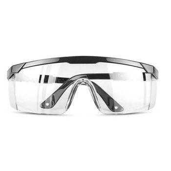 Okulary ochronne jasne okulary chemiczne odporne na uderzenia całkowicie zabudowana 831A tanie i dobre opinie CN (pochodzenie) Z tworzywa sztucznego Unisex Safety Goggles Octan Length 15 4 cm(6 06in) 5 4cm(2 13in) 2 2cm(0 87in)