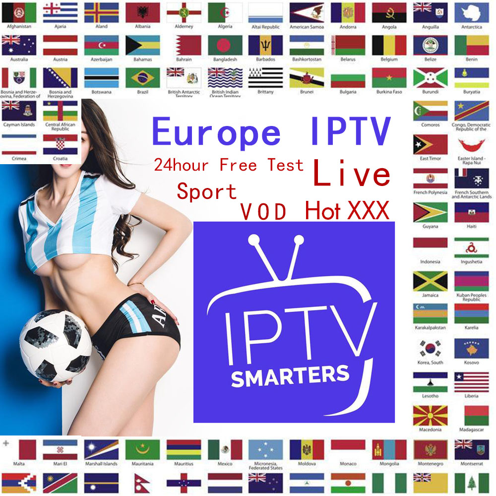 HD IPTV Player IPTV 7500+ Live Xxx VOD Europe Dutch Israel Spain Portugal Itlay Arabic TV Subscription Smart IPTV M3U TV Box