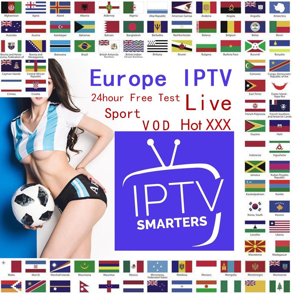 HD IPTV Player IPTV 7500+ Live Xxx VOD Europe Dutch Israel Spain Portugal Itlay Arabic TV Subscription Smart IPTV M3U TV Box