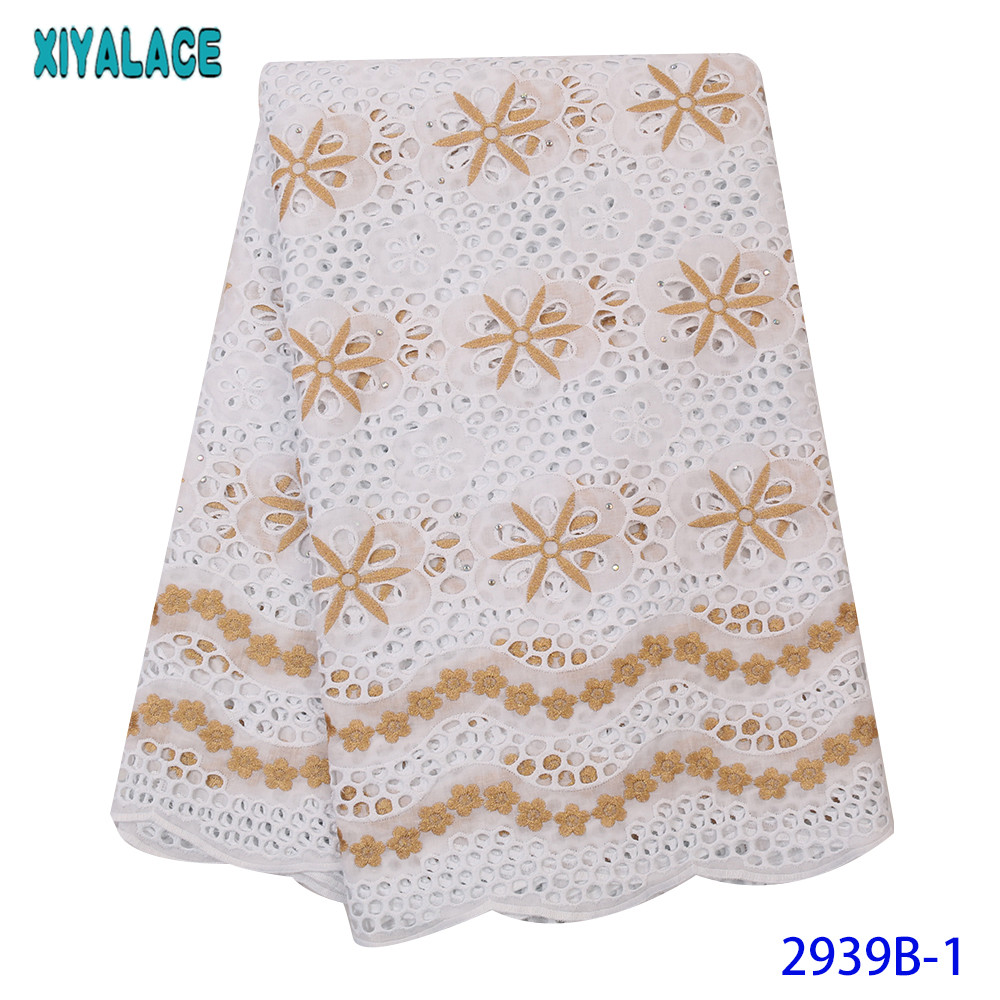 Small Holes Design Nigerian New Arrivals Swiss Voile Lace In Switzerland  African Dry Lace Fabric Soft Skin Dubai Lace KS2939B