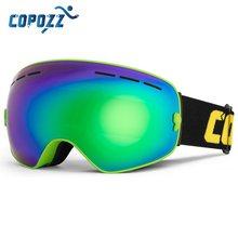 COPOZZ marke ski brille doppel schichten UV400 anti-fog big ski maske brille skifahren schnee männer frauen snowboard brille GOG-201 Pro