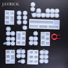 Kristall Epoxy Kürbis Silikon Form DIY Handgemachten Schmuck Drei dimensionale Kürbis Perle Anhänger Epoxy Formen Schmuck Machen