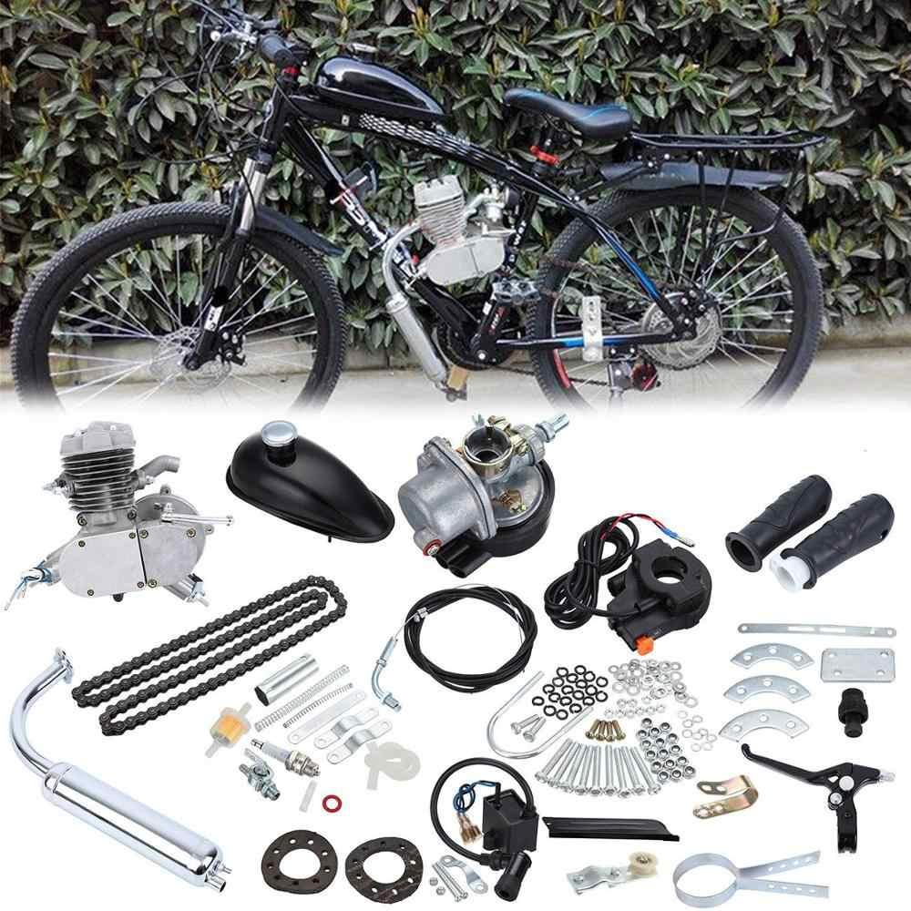 50cc Bicycle 2-Strokes Gasoline Engine Motor Mounts Kit Electric Bike DIY Motor