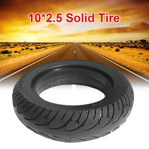 Черные 10*2,5 твердые шины 10 дюймов для электрического скутера складной электровелосипед Расширенная шина для 8/10 дюймов аксессуары для элект...