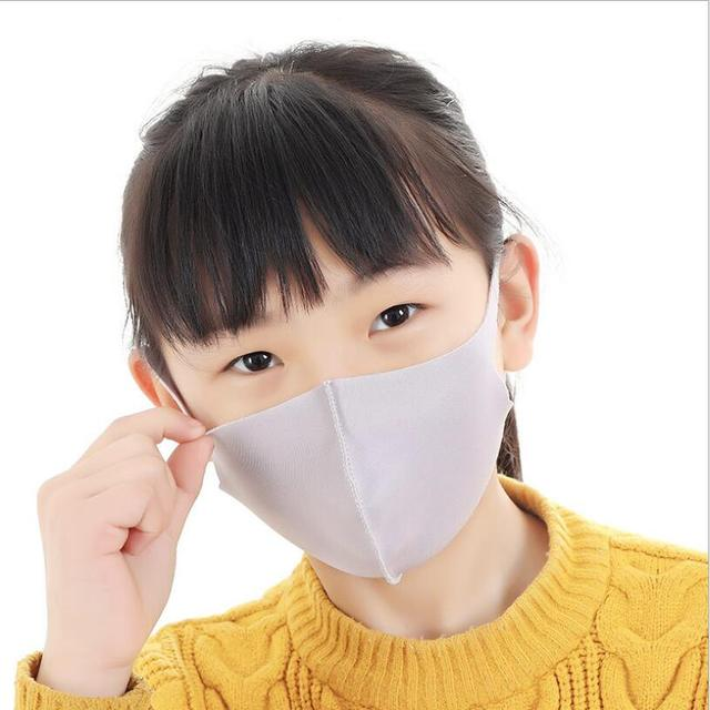 3-10 years  Kids mouth mask Flexible Bacteria proof mask Windproof Mouth-muffle Cycling Wearing Anti-Dust Face Mask on the mouth 2