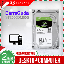 Внутренний жесткий диск Seagate, 3,5 дюйма, 2 ТБ, 7200 об/мин, SATA 6