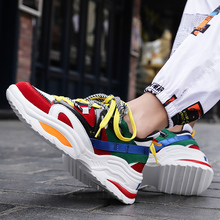 2019 Fashion Casual Shoes Men Sneakers Black White Walking Footwear Breathable Mesh Sneakers Men Shoes Zapatos De Hombre northmarch luxury fashion leather sneakers for men elastic band shoes men breathable casual shoes men footwear zapatos hombre