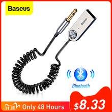 Переходник Aux Bluetooth Baseus, со штекером 3,5 мм, Bluetooth 5.0/4.2/4.0, приемник передатчик для музыки