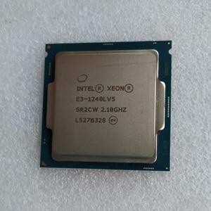 Image 2 - Intel Xeon E3 1240LV5 מעבד 2.1GHz 8MB Cache 4 Core 8 אשכולות LGA1151 מעבד