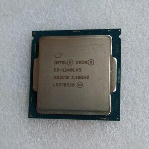 Image 2 - Intel Xeon E3 1240LV5 CPU, 2,1 GHz, 8MB de caché, 4 núcleos, 8 hilos, procesador LGA1151