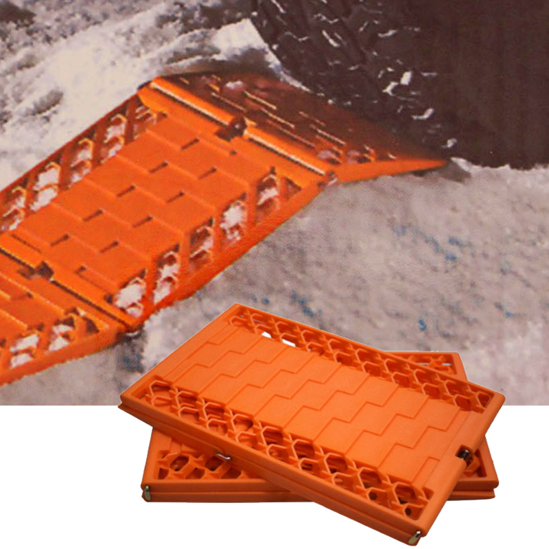 Outils de sécurité routière Automobiles 2 pièces/ensemble camions chaînes à neige pour roues voiture pliable anti-dérapant Plat boue pneus Protection
