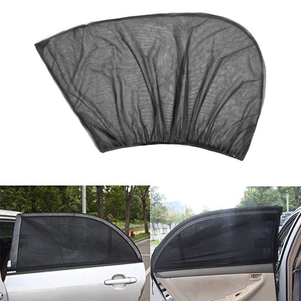 Summer Thickened Mesh Car Sun Shade Magnetic Curtain UV Protection Side Window Visor