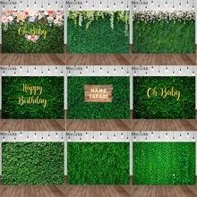 Фон для фотосъемки с зеленой травой mocsicka свадебный цветок