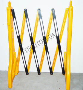 Retractable-Belt Expandable Barrier Bases Road-Safety Plastic Yellow Safety-Barrier/stanchion