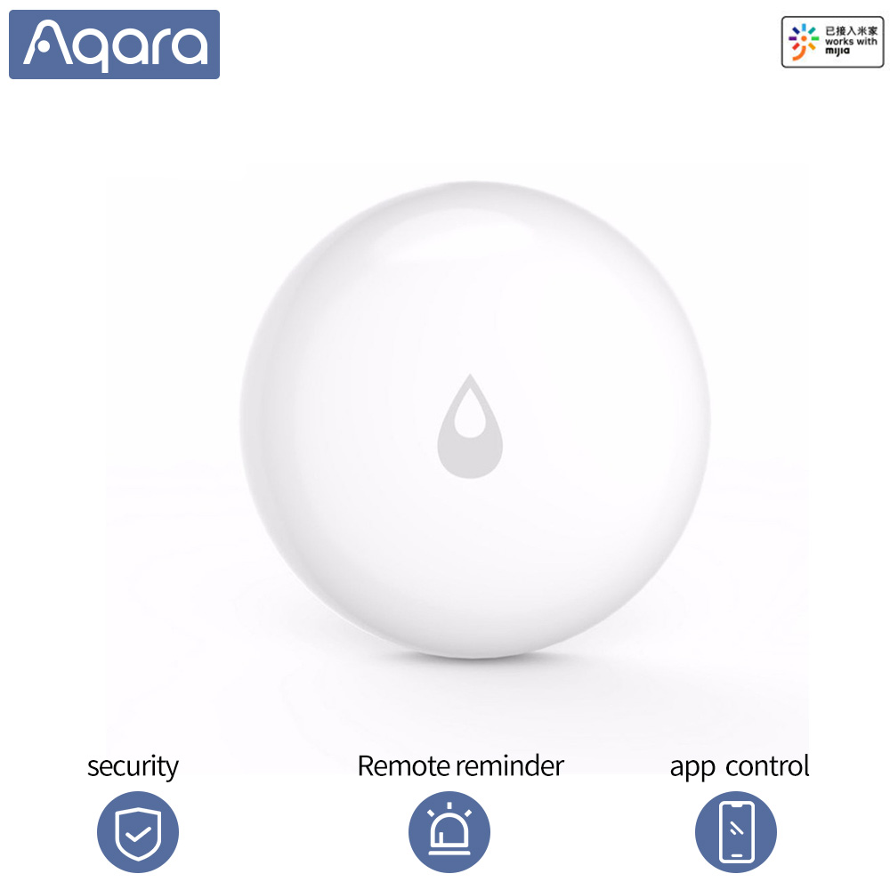 Aqara Water Sensor Alarm Waterproof Humidity Leak Soaking Immersing Sensor Remote Alarm Security App For Xiaomi Smart Homekits