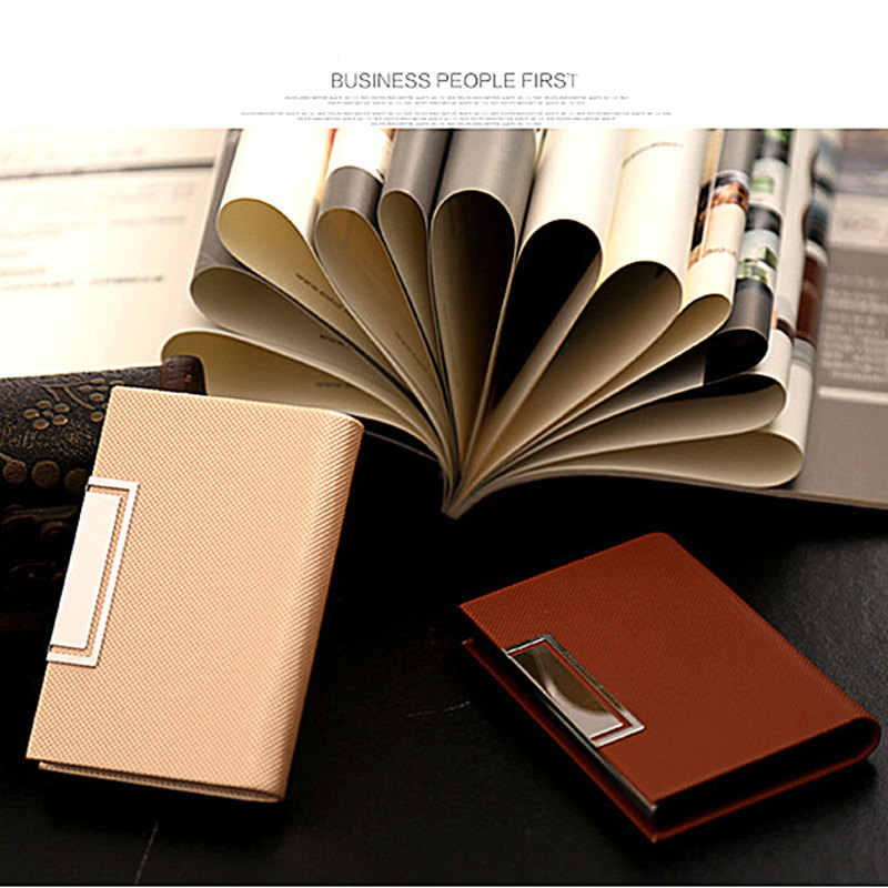 BYCOBECY 2019 Business Card Holder Slim Name Card Case Men Women ID Credit Card Holder Stainless Steel Aluminum Metal Wallet