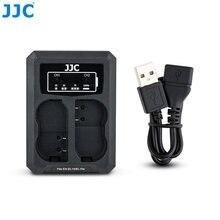 JJC – chargeur de batterie double USB pour Nikon EN-EL15 EN-EL15a EN-EL15b, pour appareil photo Z7 Z6 D850 D810A D810 D800, remplace MH-25A