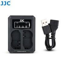 JJC USB double chargeur de batterie pour Nikon EN EL15 EN EL15a EN EL15b batterie sur appareil photo Z7 Z6 D850 D810A D810 D800 remplace MH 25A