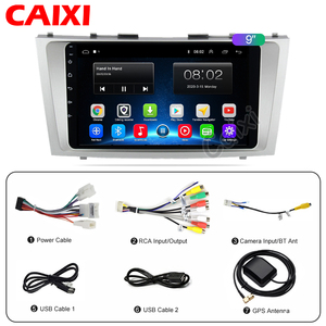 Image 5 - CaiXi 2din 9inch 2.5D Android 9.0 CAR DVD Radio Multimedia Player For Toyota Camry 2007 2008 2009 2010 2011 Navigation gps