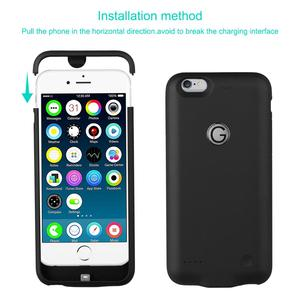 Image 5 - 3000mAh Battery Case Battery Charger for iPhone 6/ 6s Plus Power Bank Charging Case for iPhone 6/ 6s Plus Battery Charger Cover.