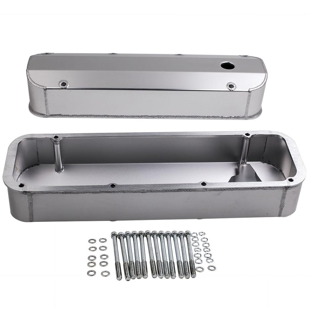 Алюминиевые Двигатели двигателя изготовленные алюминиевые крышки для Ford V8 BBF 429 460 двигатели большой блок