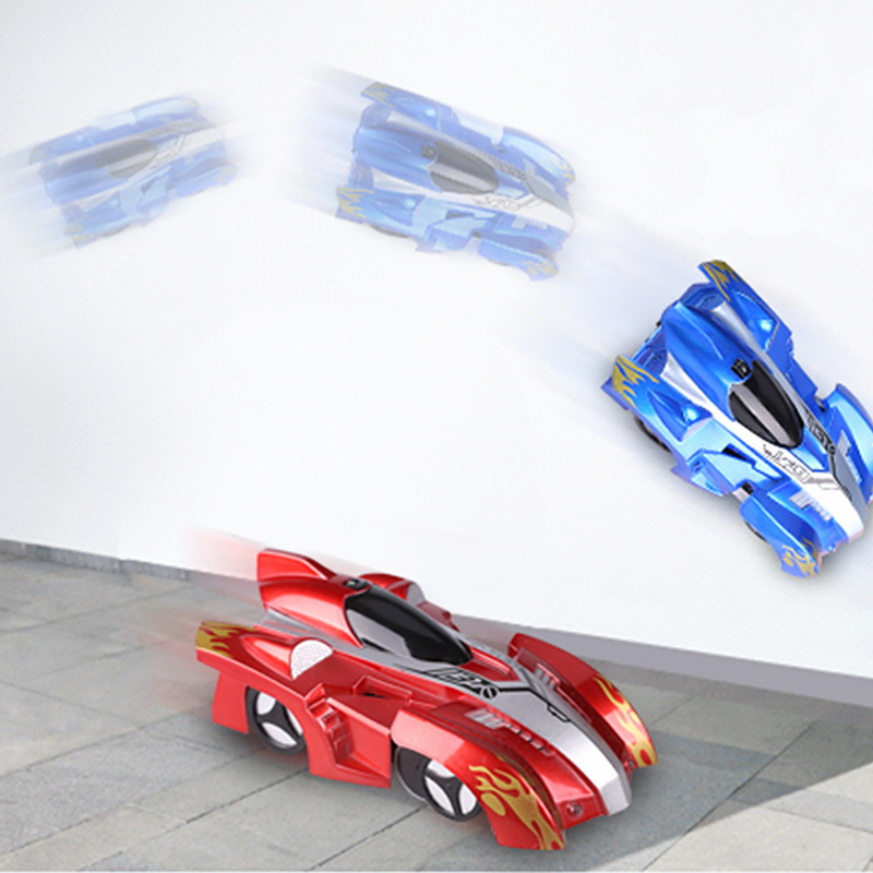 Children Climbing Racing Climbing Wall Stunt Cars Kids Toys Wireless Electric Remote Control Battery Charging  Toys Car