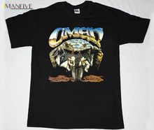 OMEN THE CURSE HEAVY METAL CIRITH UNGOL JAG PANZER NEW RARE BLACK T-SHIRT Quality Print New Summer Style Cotton Printing