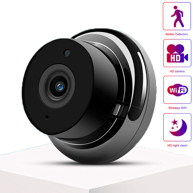 Mini PTZ Wireless Ip Camera K1A-Mini WiFi Camera Network HD Night Vision Surveillance Home Smartphone Remote Monitoring Camera
