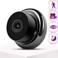 Mini PTZ bezprzewodowa kamera ip K1A-Mini kamera wifi sieci HD Night Vision nadzoru domu smartfon zdalny monitoring kamery