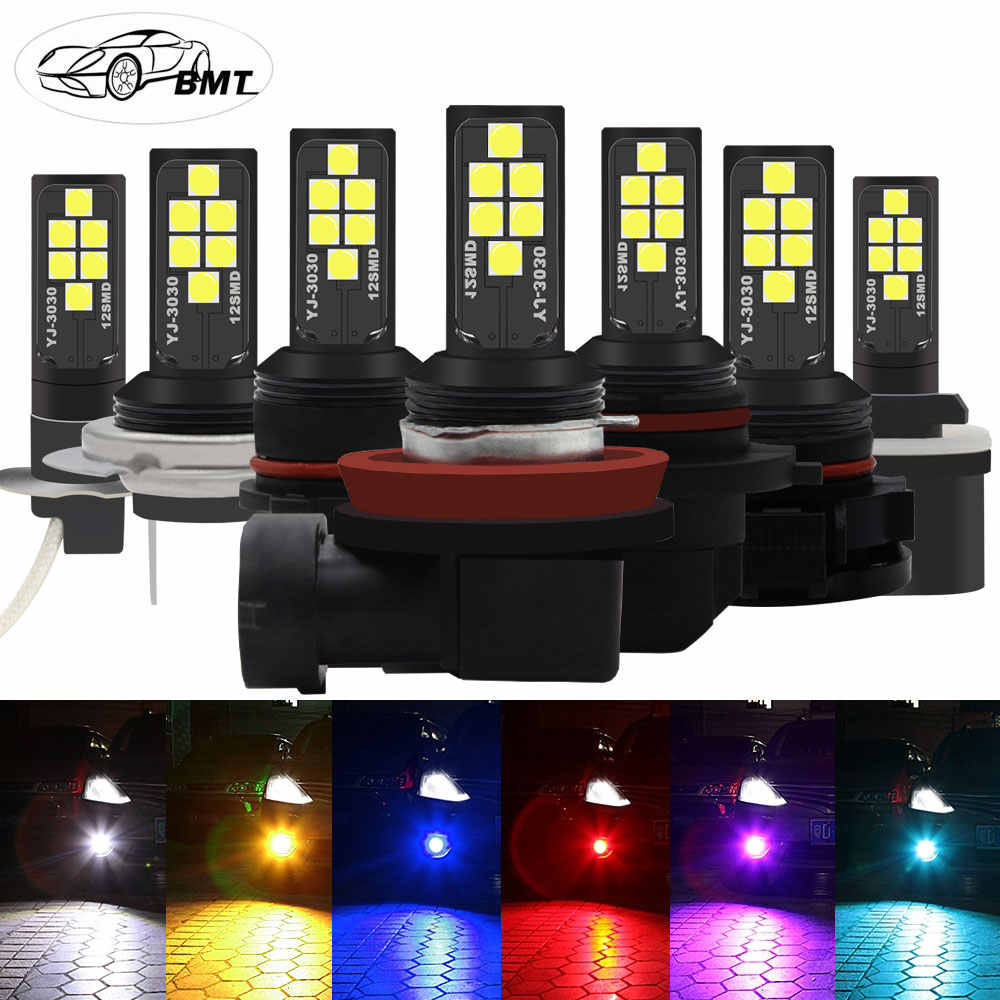 BMT H8 H11 H7 H1 H3 Led Canbus 9006 9005 HB4 HB3 H16 5202 PSX24W h27w2 h27w1 881 h27w/2 h27w/1 P13W PSX26W Led Car Fog Light DRL