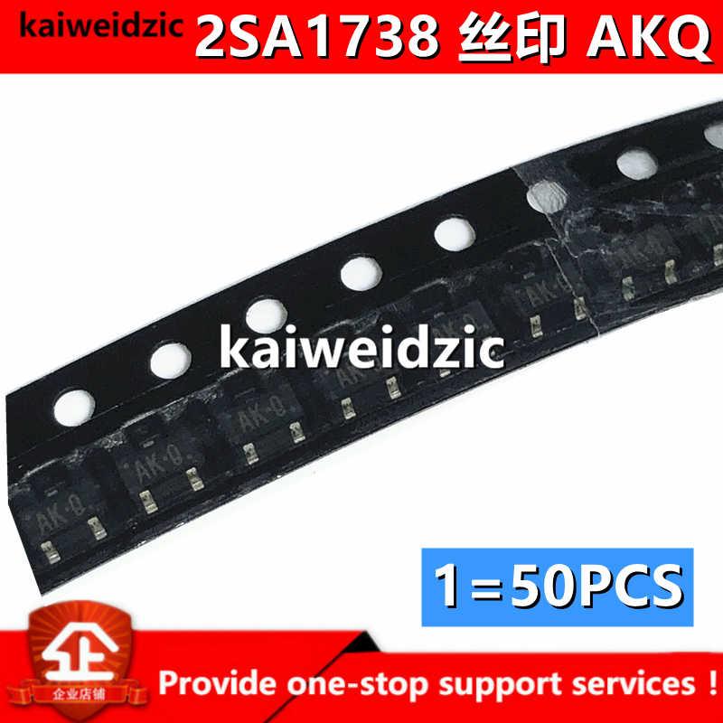 2SA1738 2SA1739 шелк трафаретная печать с обеих сторон AK-R AXQ SOT323-3 1738 1739 PNP Триод Транзистор