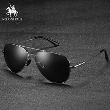 NO.ONEPAUL Leg Alloy Men Sunglasses Polarized Brand Design P
