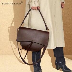 Image 2 - مشمس شاطئ المرأة حقيبة Vintage حقيبة كتف الإناث حقيبة كروسبودي فتاة Bolsas بولي Leather حقيبة جلدية حقيبة ترفيه