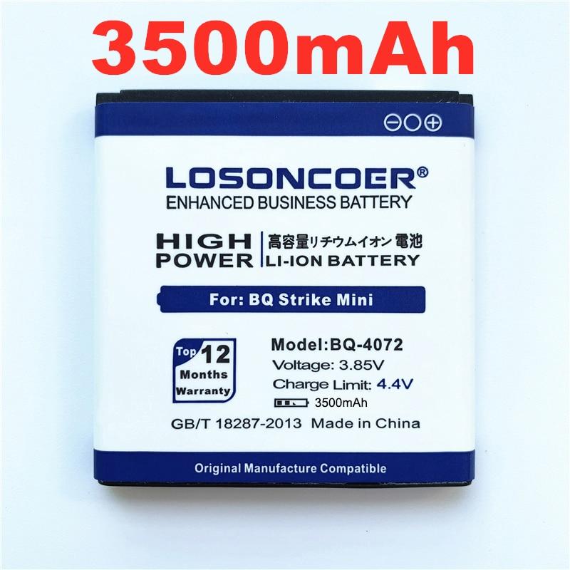 656.97руб. 8% СКИДКА|100% оригинал LOSONCOER 3400 мАч для BQ 4072 батарея для BQ 4072 BQS 4072 BQS 4072 Strike мини Замена батареи для телефона|Аккумуляторы для мобильных телефонов| |  - AliExpress