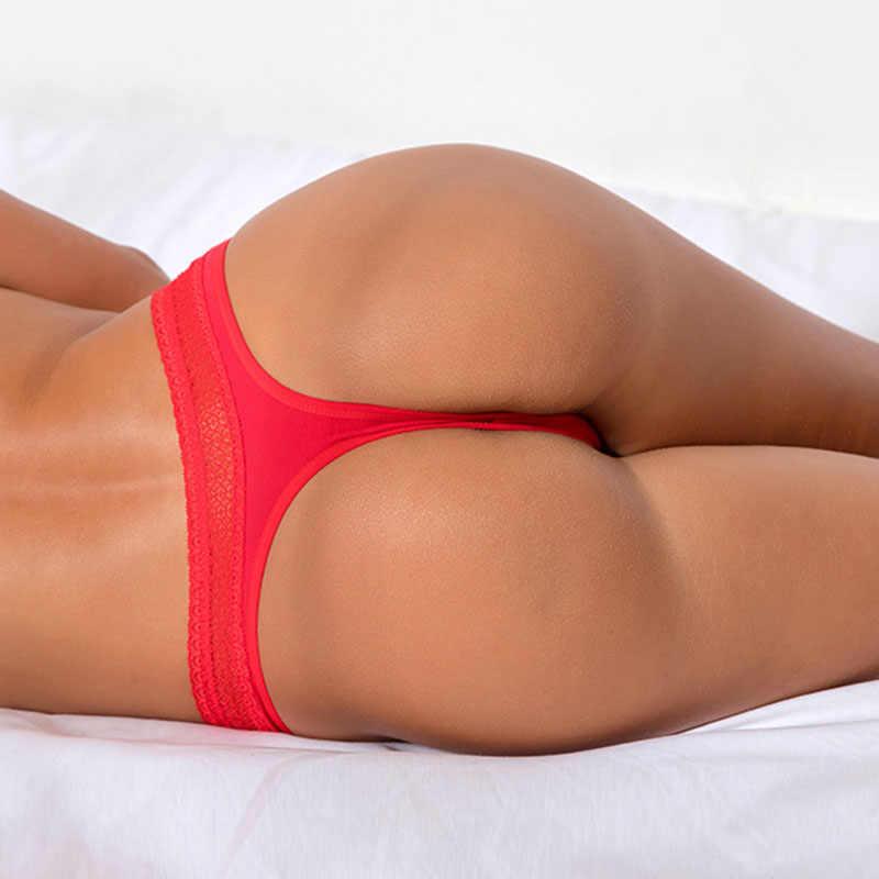Damskie seksowne stringi kalesony siatki bawełniane oddychające majtki duże rozmiary stringi majtki dla kobiet czerwone białe stringi bielizna XXXL
