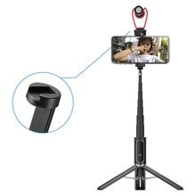 Ulanzi SK 02 Bluetooth Selfie Stick Tripod Monopod Extend Pole Stick With Cold Shoe for iPhone Samsung Huawei XiaoMi Smartphone