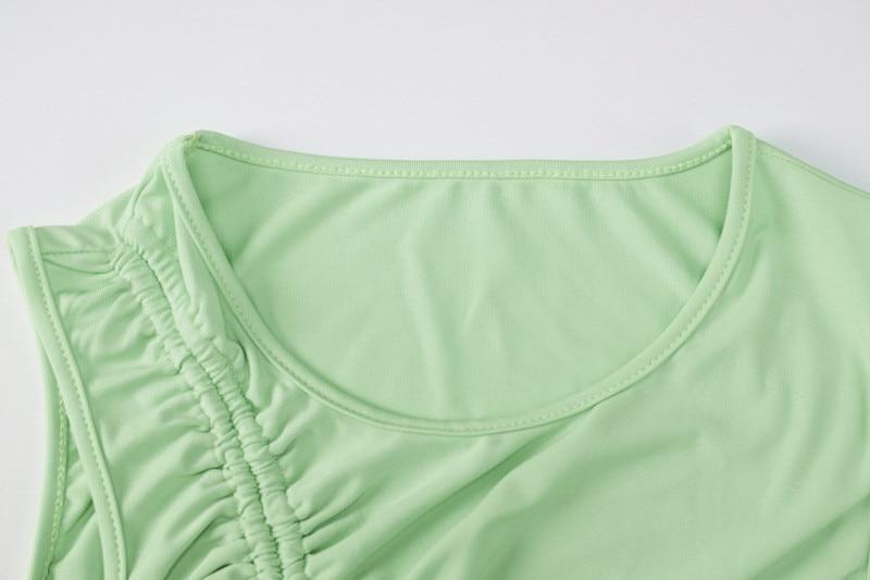 sleeveless mini short dress06