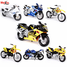 Maisto 1:18 SUZUKI GSX-R600 original authorized simulation alloy motorcycle model toy car