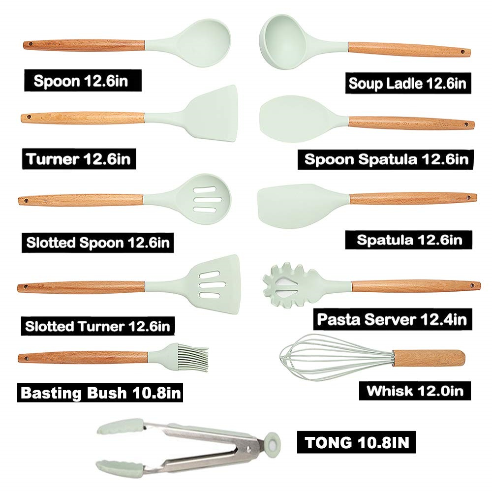 Image 4 - New Kitchen Gadgets Cooking Tools 12 Pcs Best Kitchen Set Cooking