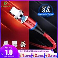FLOVEME מגנטי מטען מיקרו Usb כבל עבור iphone Usb סוג C מהיר טעינת מתאם מטען מגנט חוט עבור סמסונג Xiaomi כבל