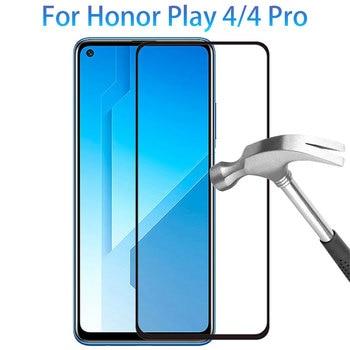 Перейти на Алиэкспресс и купить Защитное стекло для honor play 4 pro 5g защита для экрана закаленное стекло для huawei honer play4 4pro пленка huawey huwei hawei onor