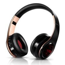 Yeni varış LED solunum işıkları kablosuz bluetooth kulaklık cep kulaklık desteği mobil bilgisayar tablet ağır bas