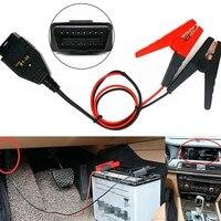 High Quality OBD2 OBDII Car Auto ECU Memory Saver Emergency Power Supply Battery Clips|  -