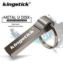 100 Real capacity USB Flash Drives 64gb 128gb mini usb 8GB 16GB 32GB metal pen key usb disk flash memory card pendrive stick cheap Kingstick CN(Origin) USB 2 0 wolf-usb3 0-002 Flash Disk 2018 Year